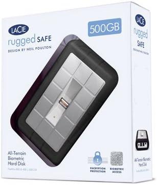 Amazon Com Lacie Rugged All Terrain Safe 1 Tb Usb 2 0 Firewire 800 Portable External Hard Drive 301490 Electronics