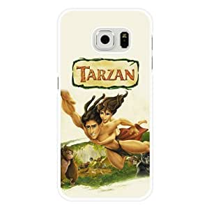 For Ipod Touch 5 Case Cover Diy Disney Tarzan White Hard Shell For Ipod Touch 5 Case Cover Tarzan Edge Case(Only Fit for Edge)