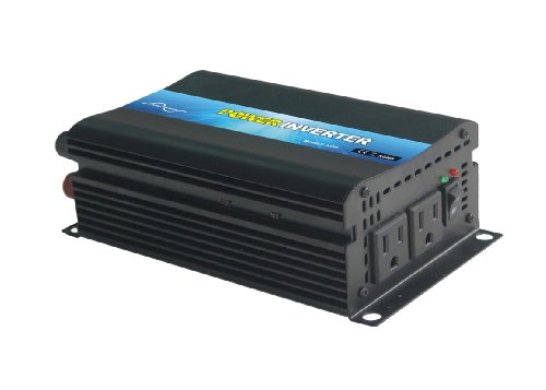 NIMTEK NMM300 Pure Sine Wave Off-grid Inverter, Solar Inverter 300 Watt 24 Volt DC To 110 Volt AC by NIMTEK Solar Inverter