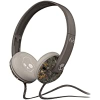 Skullcandy Unisex Uprock Micd Real Tree Camo/Dark Tan Headphones