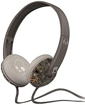 Skullcandy Uprock Headphones with Mic Real Tree/Orange/Lt Gray, One Size