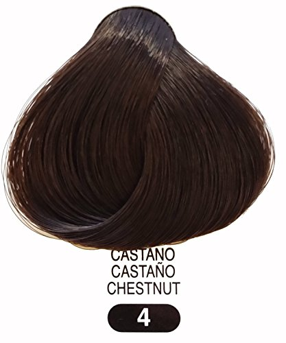 (TERME Professional Hair Colouring Cream 4 Nat. Chestnut 3.38oz )