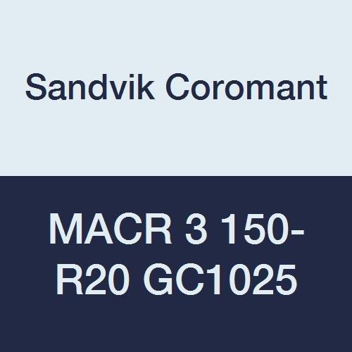 CXS-07G078-7235R Multi-Layer Coating 0 Corner Radius 07 Insert Seat Size Pack of 1 Sandvik Coromant CoroTurn XS Carbide Grooving Insert 1 Cutting Edge 0.031 Cutting Width GC1025 Grade Right Hand Orientation