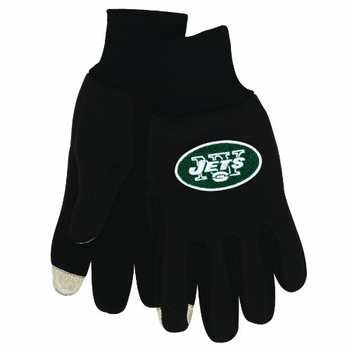 NFL New York Jets Technology Touch Gloves
