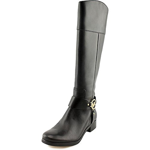 Michael Michael Kors Women's Fulton Harness Riding Boot Black Size 10