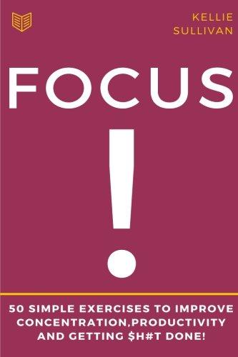 Focus Concentration Productivity concentration procrastination
