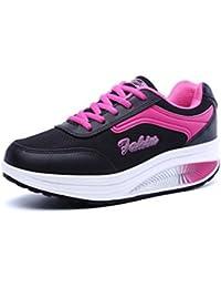 Women's Comfortable Wedge Shoes Platform Walking Shoes...