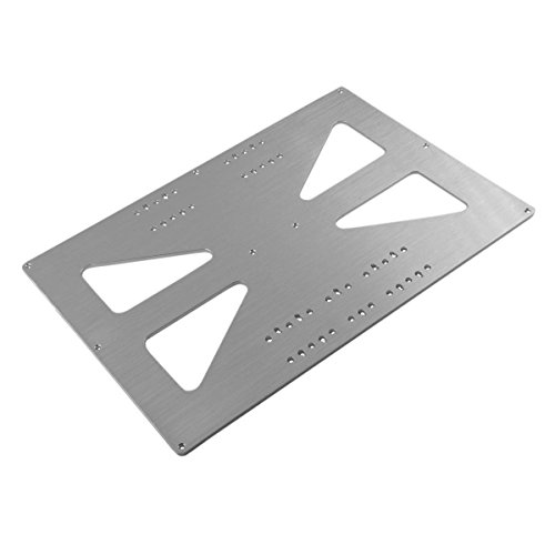 [Gulfcoast Robotics] Extended 300x200mm Aluminum Y Carriage Plate Upgrade for Prusa i3 Style 3D Printer