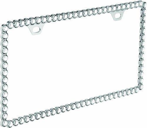 Designer License Plate - Bell Automotive 22-1-46291-8 Universal Diamonds Design License Plate Frame