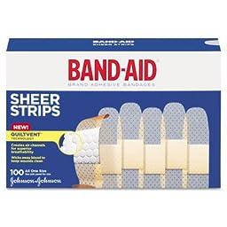 Sheer Adhesive Bandages, 3/4\