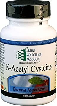Ortho Molecular Product N-Acetyl Cysteine — 60 Capsules