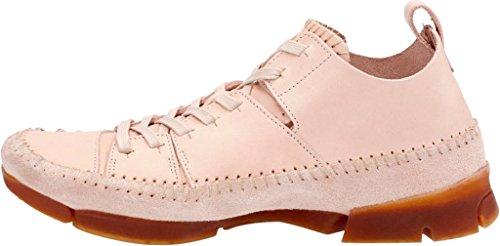 CLARKS Mens Suede Trigenic Flex Sneakers Natural Tan W1ShMUM