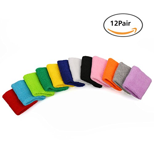 Bluesky Sports Cotton Sweatbands Different product image