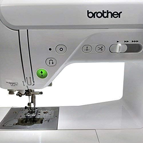 Brother Innovis F420 Máquina de Coser, Blanco, L: Amazon.es: Hogar