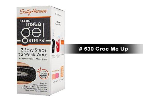Sally Hansen Salon Insta Gel Strips 16 ct (530 Croc Me Up),0.14fl oz by Sally Hansen