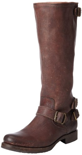 Frye Veronica Back Zip Womens Knee High Boots Dark Brown Stone Antique-77551 discount footlocker pictures best sale cheap price outlet Inexpensive best for sale XJVp8E7G