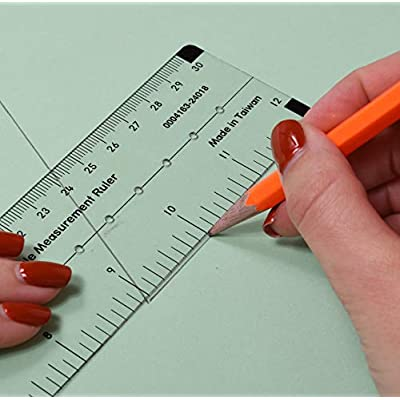 Learning Advantage Angle Measurement Ruler: Industrial & Scientific