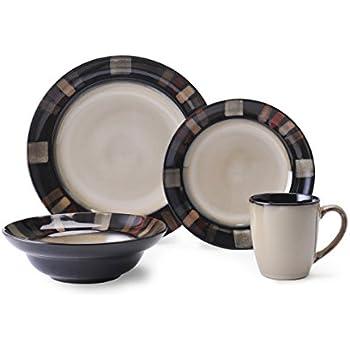 this item pfaltzgraff tahoe 16piece stoneware dinnerware set service for 4 - Pfaltzgraff Patterns