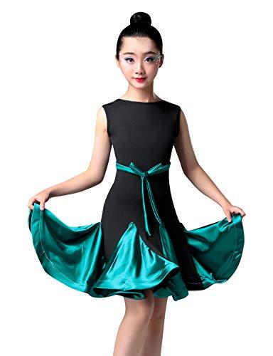 Happy Cherry Latin Dance Dress for Girls Samba