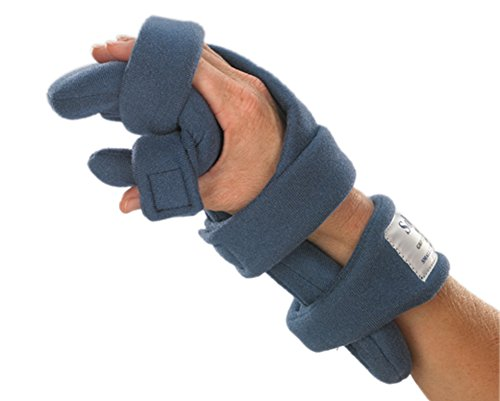 - Stroke Hand Brace: SoftPro Functional Resting Hand Splint, Left, Medium