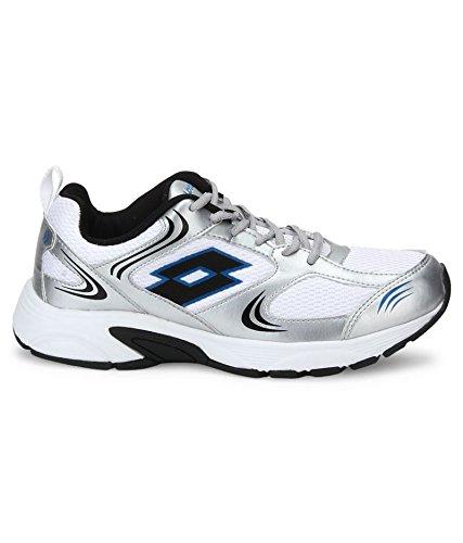 Speed Run White Running Shoes