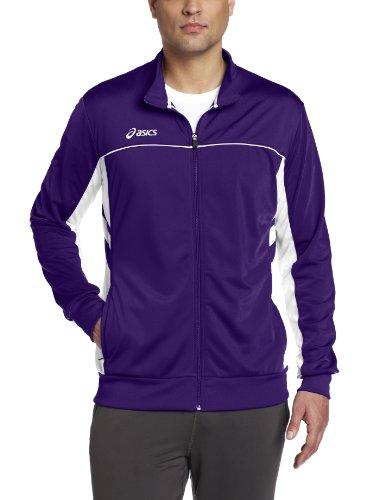 ASICS Men's Cabrillo Jacket,Purple/White,Medium