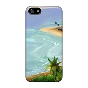 Ultra Slim Fit Hard Randapy4x65 Cases Covers Specially Made For Iphone 5/5s- 3d View