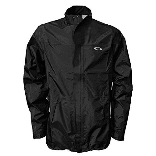 2014 Oakley Lamar Full Zip Waterproof Mens Golf Jacket Black - Full Jacket Oakley