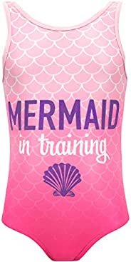 Harry Bear Girls Mermaid Swimsuit
