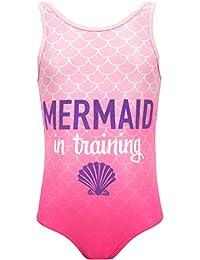 Harry Bear Girls Mermaid Swimsuit