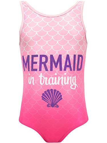 Merpeople Costumes - Harry Bear Girls' Mermaid Swimsuit Size