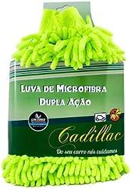 Luva de Microfibra Dupla Ação - Lavagem + Remoção de Insetos Cadillac