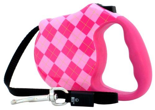 Avant Garde Retractable Dog Leash, Prep, Small, My Pet Supplies