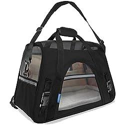 EBRICKON Pet Bag Backpack Dog Cat Carrier Travel Pack Teddy Outgoing Packets Shoulder Bag Pet Handbag for Dogs