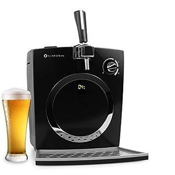 Klarstein 10010174 5L Dispensador de cerveza de barril grifo de cerveza - Tirador de cerveza (6 kg, 440 x 330 x 440 mm, 72 W, LED): Amazon.es: Hogar