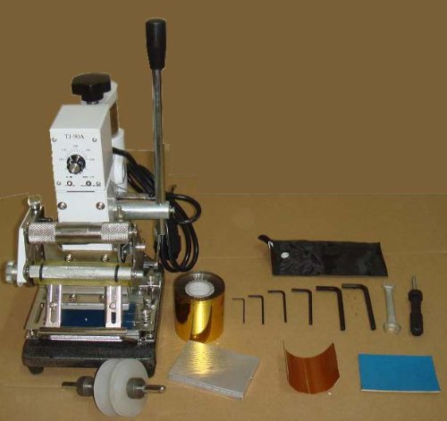 Hot Foil Stamping Machine, Card Tipper for Leather, PVC