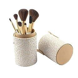 SimplylinFoundation Cosmetic Eyebrow Eyeshadow Brush Makeup Brush Sets Tools 12PCS (A)