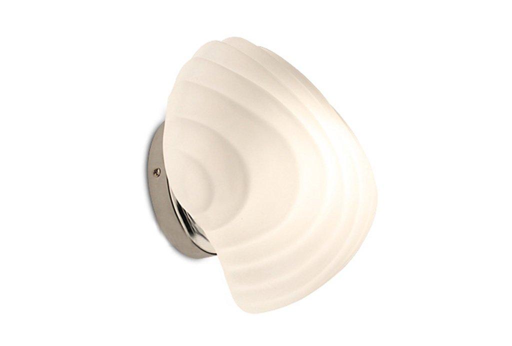 SMQ LED semplice moderno mare shell lampada da parete personalit/à della moda soggiorno camera da letto studio creativo lampada da parete per bambini lampada da camera Lampada di forma creativa a paret