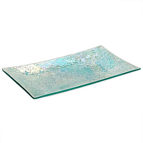Mirrored Guest Towel Tray - 7