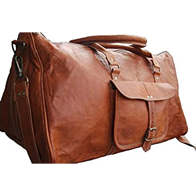 The  Bee Keeper  Leather Overnight Bag by Duffle   Co on sale ... b73551a50a