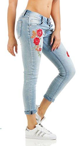 5 Donna Jeans Boyfriend Blu Skutari Xvq4Z8Ux