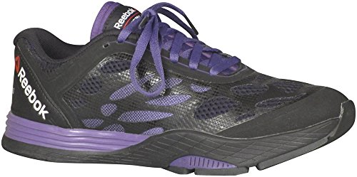 Reebok Lm Cardio Ultra Cross Training Sport Trainer Shoes Black/Gravel/Sport Violet/Red Rush 6oW5Cx