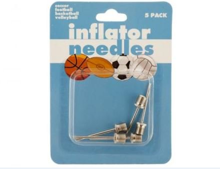 K&A Company Air Ball Inflator Needle Sports Pump Case of 48 by K&A Company