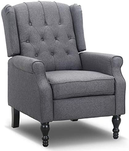 Bonzy Home Wingback Recliner Chair