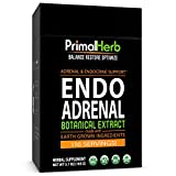 Adrenal Fatigue & Cortisol Support | by Primal Herb | Ashwagandha, Rhodiola Rosea Plus+ Herbal Formula | Extract Powder - 94 Servings - Includes Bamboo Spoon