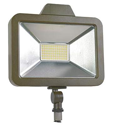 SYLVANIA Slim Floodlight 1A, Efficient 50W, Daylight White 5000K, 1 pack