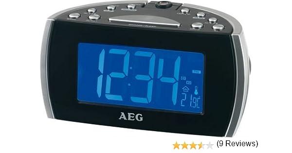 AEG MRC 4119 P - Radio Despertador: AEG: Amazon.es: Electrónica