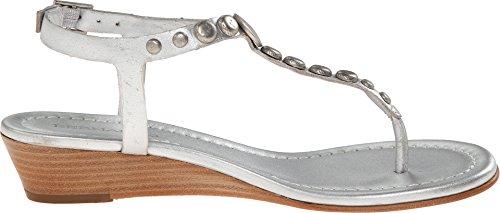 Bernardo Womens Mojo Wedge Wedge Sandal Silver Calf/silver gnbHgZ