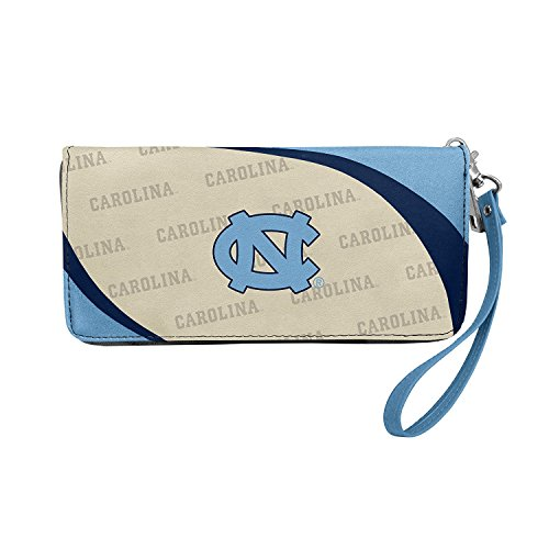 North Carolina Purse (NCAA North Carolina Tar Heels Curve Zip Organizer Wallet)