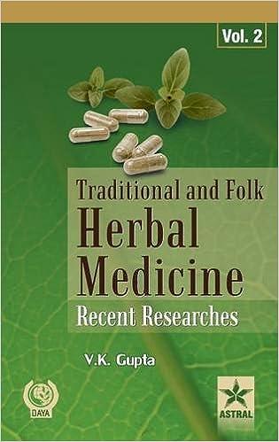 Traditional And Folk Herbal Medicine: Recent Researches Vol. 2 por V K Gupta Gratis